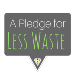 A Pledge for Less Waste